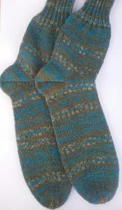 Gr. 42/43: Kuschelige Socken von Hand gestrickt aus Regia-Wolle bestellen (Kopie id: 46433) (Kopie id: 46449)