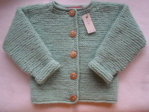 Gr. 74/80 Babyjacke  - Handarbeit kaufen