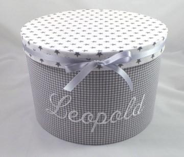Erinnerungsbox mit ihrem Wunschnamen personalisiert, mit Stoff bezogen (Kopie id: 100094121)