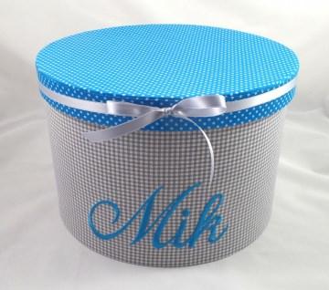 Erinnerungsbox mit ihrem Wunschnamen personalisiert, mit Stoff bezogen (Kopie id: 44225) (Kopie id: 44242) (Kopie id: 44255)
