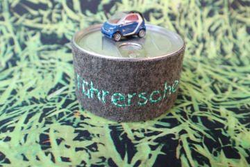Geschenkdose ♥ Führerschein ♥