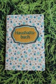 Haushaltsbuch mit Stickerei