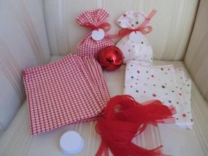 24 Adventskalendersäckchen - genäht von - patchwerk - Handarbeit kaufen