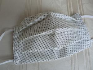 Behelfsmaske - Mund und Nasenabdeckung - zweilagig aus Baumwolle mit Gummiband - genäht von Patchwerk
