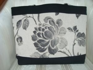 Shopper - Schultertasche - Shopping Bag - Einkaufstasche - Canvas - genäht vom Patchwerk - Handarbeit kaufen