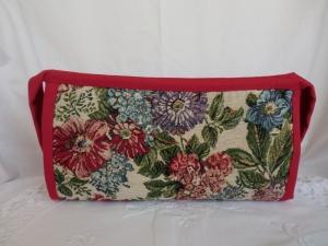 Projekttasche - Handarbeitstasche - Kosmetiktasche - Organizer - Schmuckaufbewahrung - genäht von Patchwerk - Handarbeit kaufen
