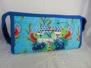 Projekttasche - Handarbeitstasche - Kosmetiktasche - Organizer - Universaltäschchen - genäht von patchwerk - Handarbeit kaufen