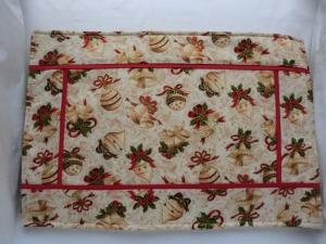 Platzset - Placemat - Weihnachten - genäht von Patchwerk - Handarbeit kaufen