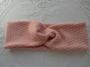 Stirnband mit Knoten aus Jacquard Jersey - genäht von patchwerk - Handarbeit kaufen