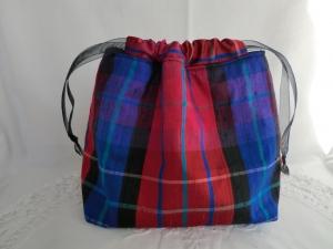 Geschenksäckchen - Geschenkverpackung - Stoffsäckchen - Seide - genäht von patchwerk - Handarbeit kaufen