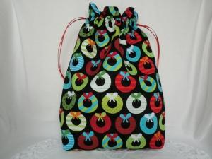 Geschenksäckchen - Geschenkverpackung - Weihnachtskränze  - genäht von Patchwerk - Handarbeit kaufen