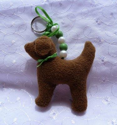 Taschenbaumler Hund