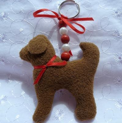 Schlüsselanhänger/Taschenbaumler Hund