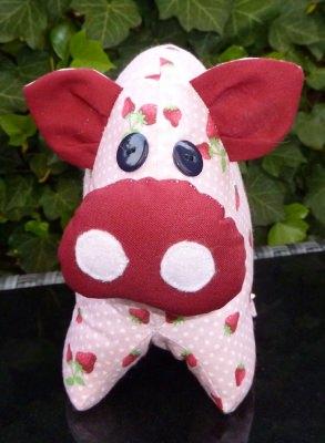 Erdbeerschwein Rosa