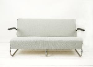 FREISCHWINGER SOFA bezogen mit STOFF von Kvadrat entworfen Frans Dijkmeijer - Handarbeit kaufen