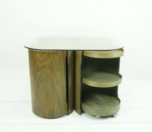 MID CENTURY COUCHTISCH im Originalzustand - Vintage Coffee Table 1950er