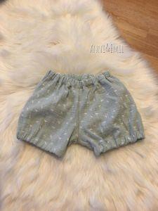 Bloomer/Shorts aus Musselin Handgefertigt