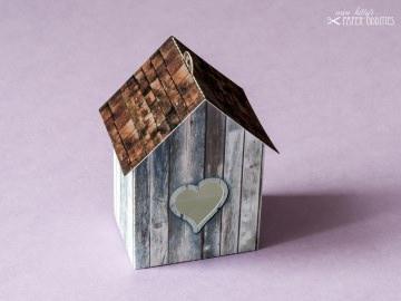 Bastelbogen »Vogelhaus« — shabby.01