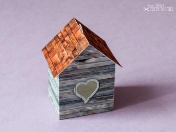 Bastelbogen »Vogelhaus« — shabby.03 - Handarbeit kaufen