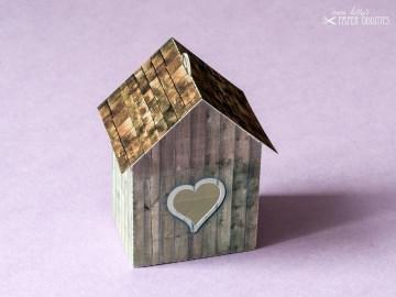 Bastelbogen »Vogelhaus« — shabby.04 - Handarbeit kaufen