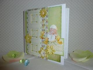 Glückwunschkarte für ein Baby - geeignet für Mädelchen & Jungen  - Handarbeit kaufen