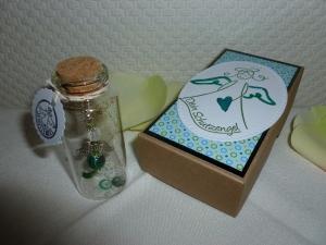 Schutzengel Geschenk-Set - im Glasflacon - in einer Geschenkschachtel - Handarbeit kaufen