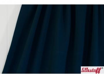Lillestoff Bio-Summersweat uni dunkelblau