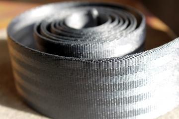 1m Sicherheitsgurtband, 38mm breit, dunkelgrau