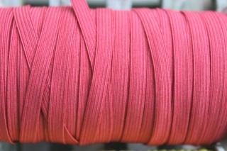 2m Gummilitze, 5mm breit, rot (dunkelrot)
