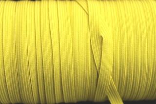 2m Gummilitze, 5mm breit, gelb