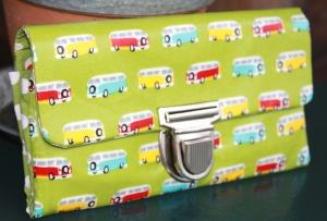Geldbeutel, Portemonnaie mit Bussen