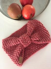 DORNRÖSCHEN - süßes Schleifen-Stirnband aus weicher Schafswolle - Handarbeit kaufen