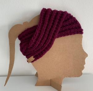 ☆ IM TREND ☆ Alladin - gestricktes Stirnband im TURBANSTYLE - Handarbeit kaufen