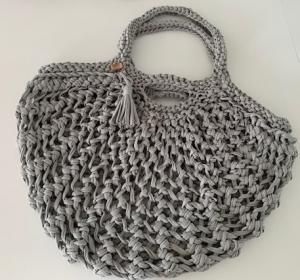 ★Tasche aus recyceltem Stoff: Raumwunder-Tasche mit viel Platz, dehnbar, platzsparend verstaubar. Jede Tasche ein UNIKAT★