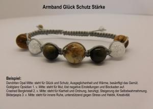 ♥ Gestalte dein Shamballa Armband individuell 7 Edelsteine frei wählbar ♥ Die Kraft der Steine ♥