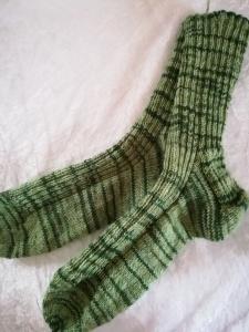 Socken handgestrickt, Herren Socken Größe 45/46
