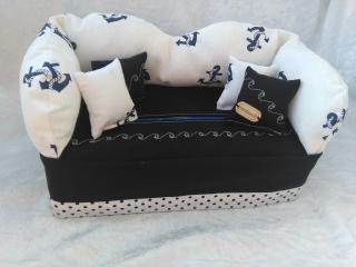 Taschentuchbox, Taschentuch Sofa, Kosmetik Box, Anker Maritim