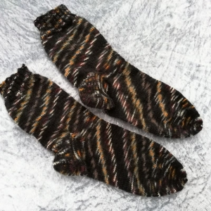 Herren Socken handgestrickt, Papa Socken Größe 44/45