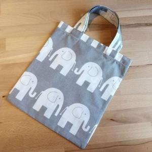 Mini Baumwoll Beutel für Kleinkinder, Einkaufstasche Kinder  - Handarbeit kaufen
