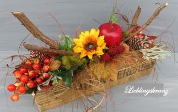 Gesteck Tischgesteck Herbstgesteck