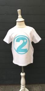 Geburtstagsshirt☆Größe und Farbe individualisierbar☆1 bis 5 Jahre☆Bio☆Shirt mit Zahl - Handarbeit kaufen