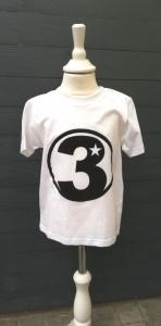 Geburtstagsshirt 3☆Shirt dritter Geburtstag☆Größe und Farbe individualisierbar☆1 bis 5 Jahre☆Bio☆Shirt mit Zahl☆Name möglich - Handarbeit kaufen