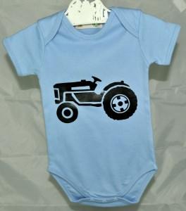 Bio Baby Body oder T-Shirt♥Traktor,Bagger oder Feuerwehrauto★Größe wählbar♥mit Name oder Aufschrift♥individualisierbar♥Geschwistershirts♥Geschenk zu Geburt oder Taufe - Handarbeit kaufen