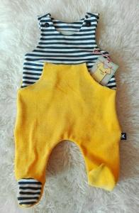 Baby Strampler Gr. 56★handgenähter Babystrampler✂maritim Ringel - Handarbeit kaufen
