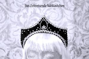 Kleine Krone, Kokoshnik, French Hood, Mittelalter, Schapel, Kopfschmuck, Gothic