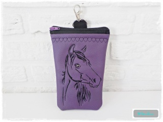 ♡ HipBag Tasche aus Kunstleder mit Pferdekopf ♡