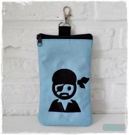 ♡ HipBag Tasche aus Kunstleder mit Pirat ♡
