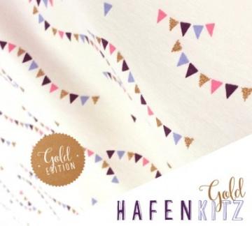 ♥♥ Jersey Hafenkitz Gold Edition ♥♥ von Alles für Selbermacher