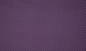 Baumwolle Popeline Punkte violet/lila