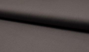 Baumwolle Popeline Uni dunkel taupe